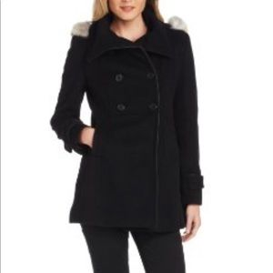 Marc New York Wool Cashmere Coat Size 12